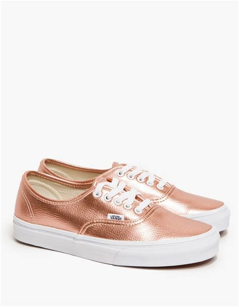 Vans Authentic in Rose Glitter in Pink (rose)