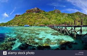 Bohey, Dulang, Island, Semporna, Borneo, Malaysia, Stock