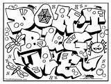 Graffiti Coloring Pages Letters Adults Colouring Names Getcolorings Printable Sheet Getdrawings Colorings Omg Another sketch template