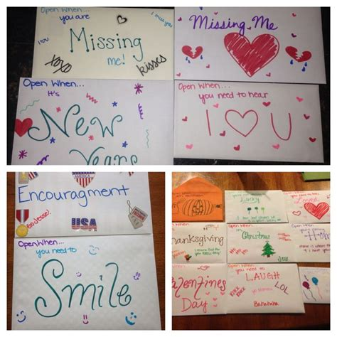 Open when you need a laugh: 1000+ images about Letter ideas on Pinterest | Army wives, Open when letters and Soldiers