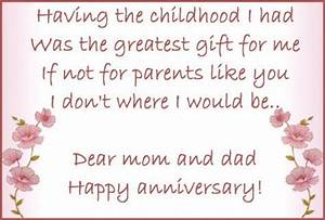 happy 17th amethyst wedding anniversary mom dad my With wedding cards messages from parents