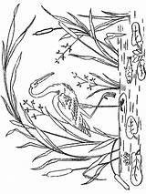 Coloring Stork Birds Printable Storks Getcolorings Recommended sketch template