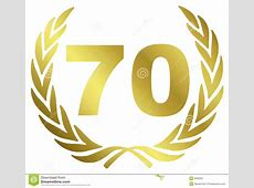 70 Anniversary Royalty Free Stock Photo Image 8592925