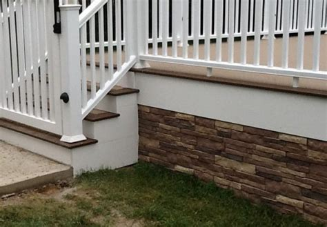 unique deck skirting ideas wonderful deck skirting ideas to use for your home
