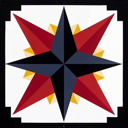 Barn Quilt Compass Square Mariner Quilts Mariners