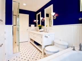 blue and white bathroom ideas modern accessory ideas for bathroom color schemes with large blue accent wall facing high glass