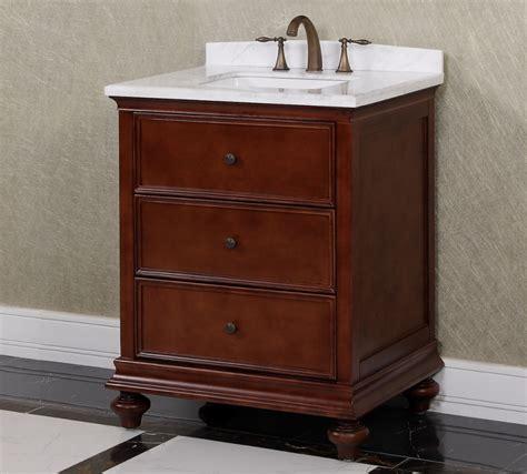 single sink bathroom vanity  brown uvlfwba