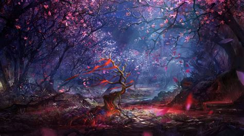 beautiful forest art hd artist  wallpapers images