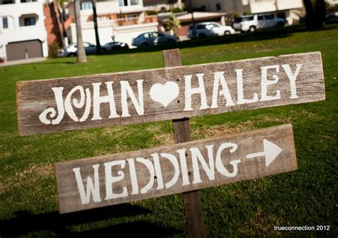 Handmade Wedding Signs From Etsy Personalized Wedding
