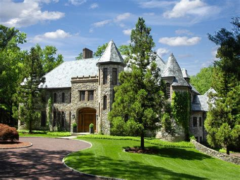 Old World Stone Manor  $15,750,000  Pricey Pads
