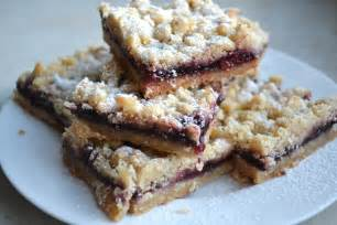 BlackBerry Jam Shortbread Bars Recipe