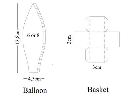 Air Balloon Template 1000 Ideas About Balloon Template On