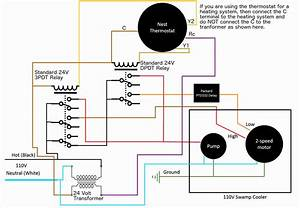 Nest Wireless Thermostat Wiring Diagram Two System