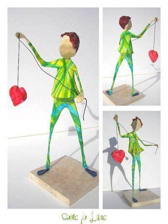 Le Aus Pappmache by H Le Petit Valentin Figuren Aus Draht Und Pappmache