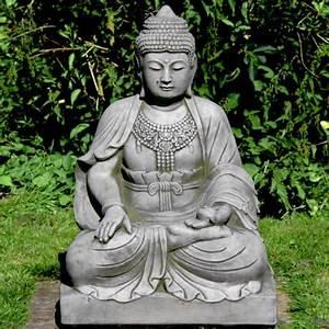 Buddha Figuren Garten Günstig : statue buddha sitzend gro englischer antik steinguss garten figuren statuen ~ Bigdaddyawards.com Haus und Dekorationen