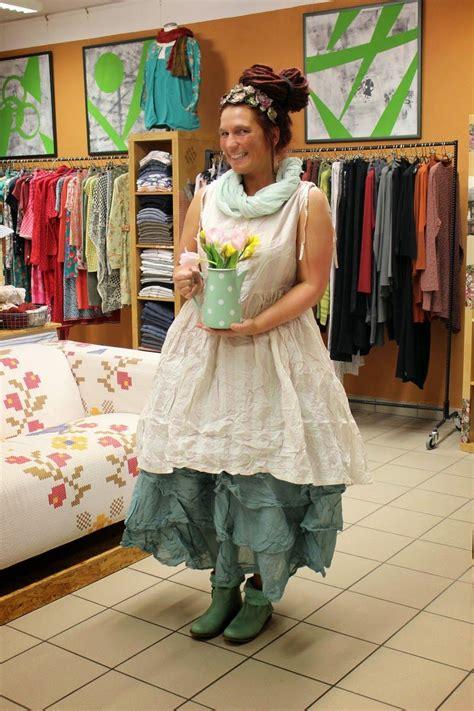 romantische mode für mollige naturmoden steffi hacke clothings primavera