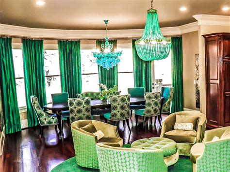 The Most Beautiful Emerald Green Interior Themes