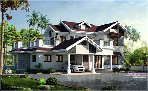 villa house plans beautiful villa design in 2750 sq kerala home