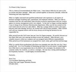 Personal Reference Sample Recommendation Letter