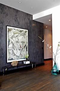 Venetian Plaster - Modern - Living Room - New York - by