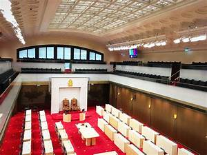 Sneak peek! Inside the Senate's new temporary home