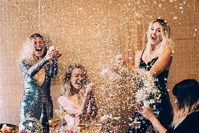 Party Holiday Disco Season Sparkly Confetti Glitter