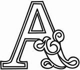 Alphabet Letter Letters Designs Urbanthreads Embroidery Cirque Coloring Pretty Pages Pattern Monogram Calligraphy Urban Threads Patterns Lettering Fonts Fancy Quilling sketch template