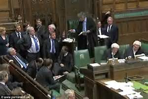 Puffy Chair by Speaker John Bercow Confronts Tory Chief Whip Patrick