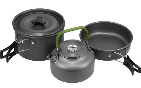cookware camping lightweight hiker terra backpacking amazon pots pans hiking nonstick outdoors picnic mesh bag