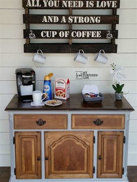 diy coffee bar perk   home design bob vila