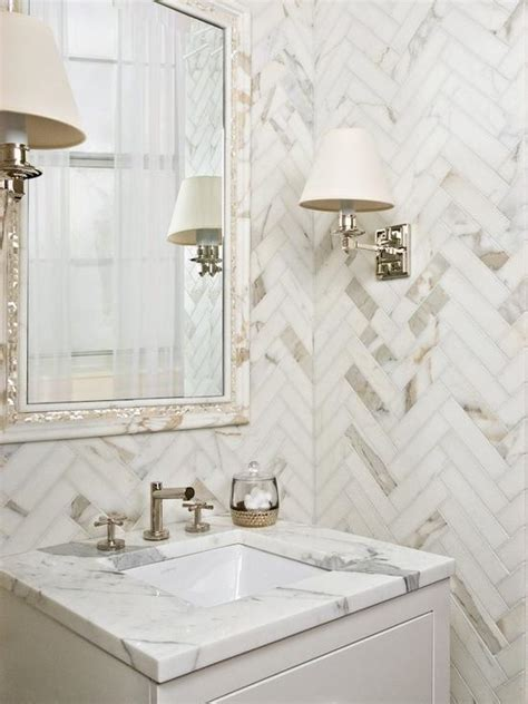 Calcutta gold marble bathroom photos