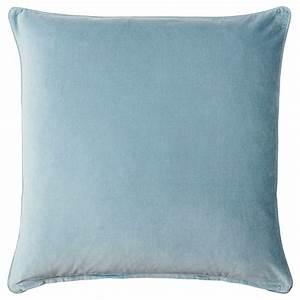 Housse De Coussin 65x65 : sanela housse de coussin bleu clair 65x65 cm ikea ~ Dailycaller-alerts.com Idées de Décoration