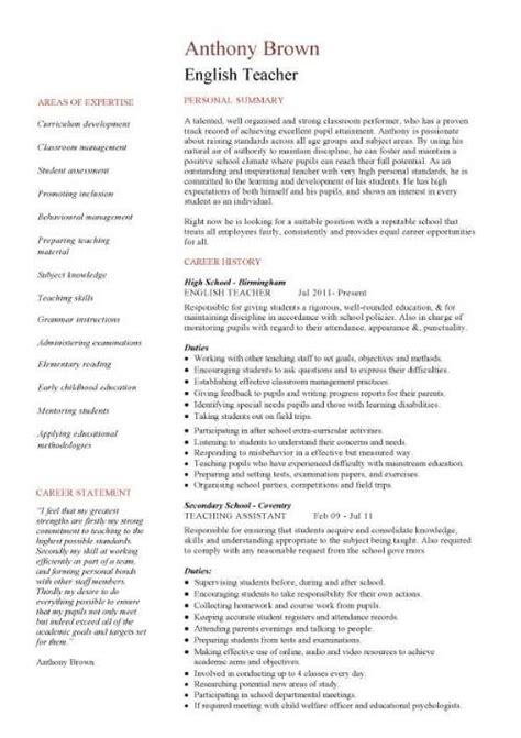 Resume For Teaching With No Experience by Cv Sle Ign And Grade Cl Work Homework