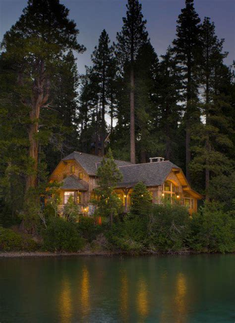 mountain house  forest