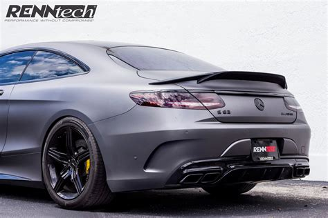 mercedes tuning mercedes c217 s63 amg coupe by renntech benztuning