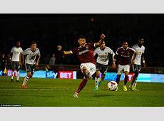 Northampton 13 Manchester United Ander Herrera and
