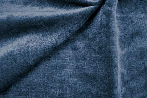 blau samt w 228 rmevorhangstoff samt uni blau