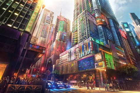 City Anime Wallpaper - city anime wallpapers hd