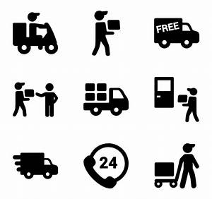 27 delivery truck icon packs - Vector icon packs - SVG ...