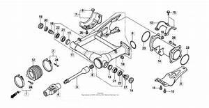 Honda Rancher 350 Rear Axle Removal