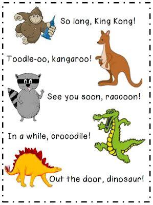 preschool goodbye song herding kats in kindergarten we t said hello and i 780