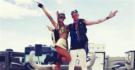 Paris Hilton Is Living Your Worst Life at Burning Man ...
