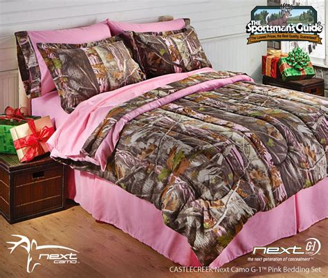 Pink Camouflage Bedding by Next Camo Bedding From Castlecreek Now Available At The
