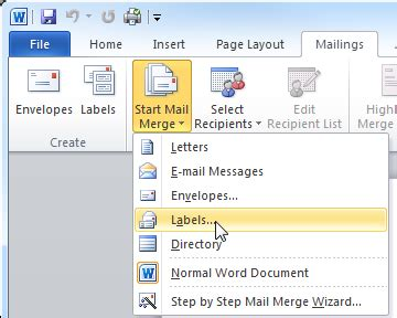 Labels With Ms Word Create Code 128 Barcode Labels With Mail Merge
