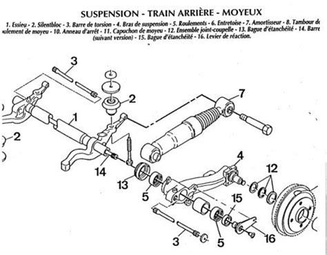 train arriere  hdi reparation mecanique aide panne