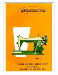 New Home Model 170 Sewing Machine Manual Pdf