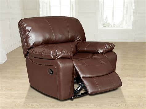 valencia recliner sofa new valencia jumbo 1 seater bonded leather recliner chair