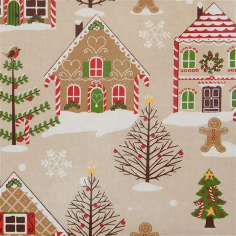 christmas gingerbread chirstmas tablecloth wipe easy