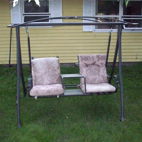 menards patio swing cushions menards two person charleston swing replacement canopy 271