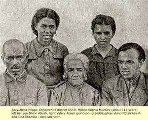 Ancient Black Russian People
